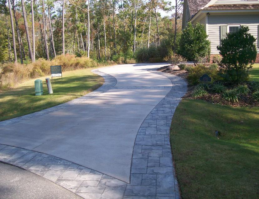 Outer Banks Concrete Driveway